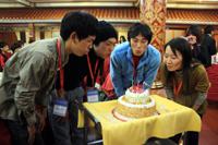 中国語では『生日快了!』と言います♪