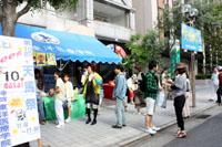 天馬祭は毎年神戸祭りと同時開催です☆