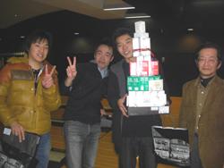 優勝賞品は鍼タワー!