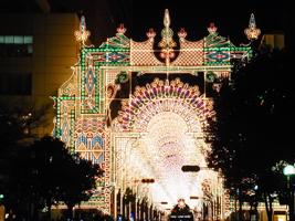 光の回廊:ガレリア入り口