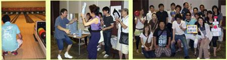 左:うちのリーダー 中:授賞式 右:3年生集合写真