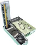 血圧計と聴診器